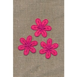 3 blomster, pink-20