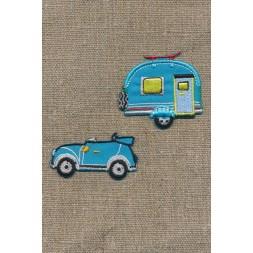 Strygemærke m/bil/campingvogn-20