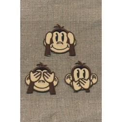 Strygemærke med 3 aber-20