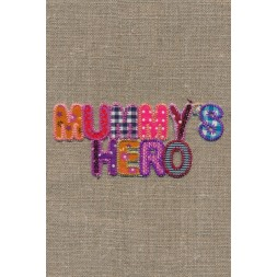 "Strygemærke ""MummyŽs hero""-20"