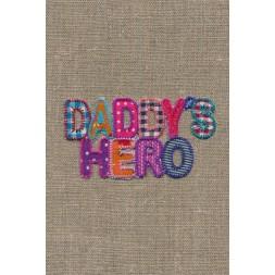 "Strygemærke ""DaddyŽs hero""-20"