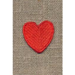 Motiv m/rødt hjerte, 25 mm-20