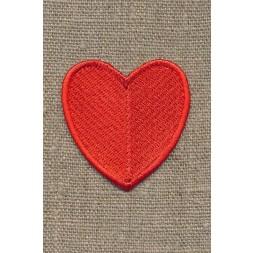 Motiv m/rødt hjerte, 45 mm-20