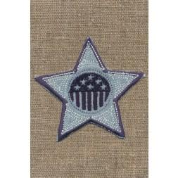 Motiv stjerne denimblå-20