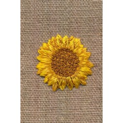Motiv med blomst Solsikke-20