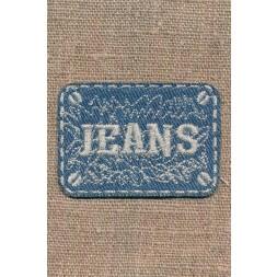 Motiv i cowboy med sølv Jeans-20