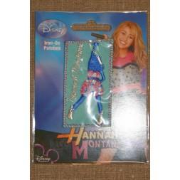 Strygemærke Hannah Montana, aqua-20