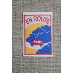 """Mærke m/bil, """"en route""""-20"""