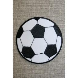 Fodbold sort/hvid, stor-20