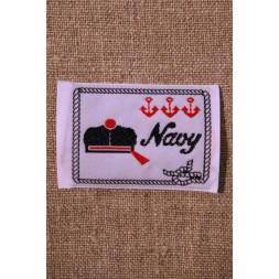 Motiv Navy Hvid/blå/rød-20