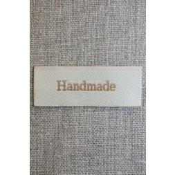 """Beige mærke """"Handmade""""-20"""