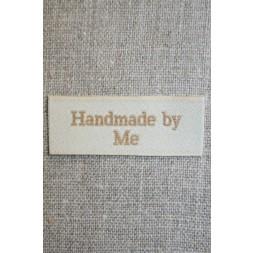 """Beige mærke """"Handmade by me""""-20"""