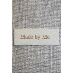 """Beige mærke """"Made by me""""-20"""
