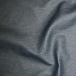 Rest Bengalin/buksestof coated i læder-look marine 85 cm.-20