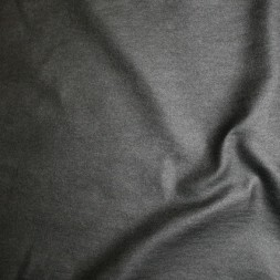 Bengalin/buksestof coated i læder-look sort-20