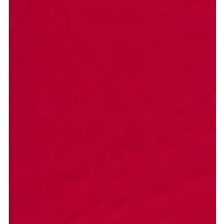 Bomuldssatin med stræk i rød