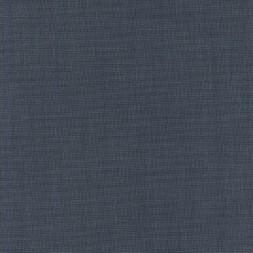 Meleret viskose/polyester med stræk, marine hvid-20