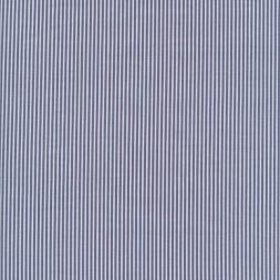 Smal-stribet bengalin knækket hvid og marine-20