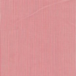 Smal-stribet bengalin knækket hvid og rød-20