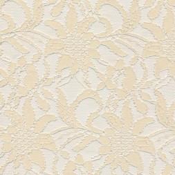 Strækblonde off-white metervare i polyamid polyester elasthan-20