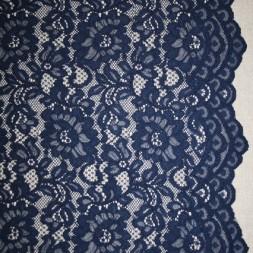 Rest Blonde med buet kant, mørkeblå, 26-32 cm.-20
