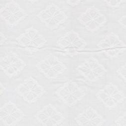 Hvid bomulds-voil m/blomster-20