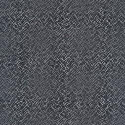 Bomuld m/små prikker, sort/hvid-20