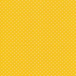 Bomuld m/prikker, gul/hvid-20
