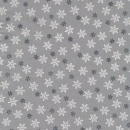 Bomuld m/snefnug, lysegrå/hvid/mørkegrå-20