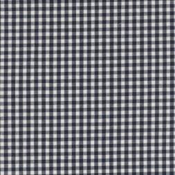 Bomuld ternet hvid/sort 4x4 mm.-20
