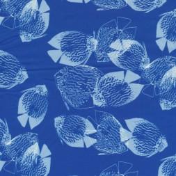 Blå bomuld m/fisk-20