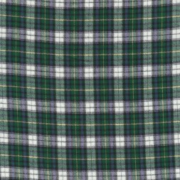 Rest Flonel ternet blå grøn hvid, 75 cm.-20
