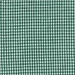 Små-ternet bomuld grøn/hvid-20