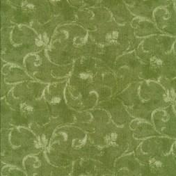 Bomuld med diskret mønster, lime-grøn-20
