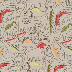 Bomuld i kit med dinosaurus-20