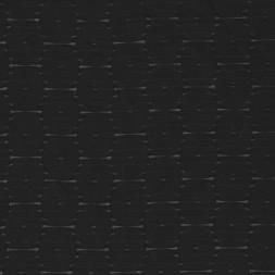 Bomuld/polyester sort med cube-mønster-20