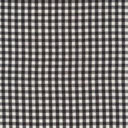 Bomuld ternet hvid/sort 5x5 mm.-20
