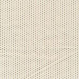 Fast stof i bomuld i offwhite med små guld prikker-20