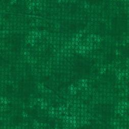 Bomuld batik med prikker i grøn og mørk grøn-20
