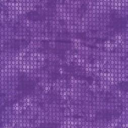 Bomuld batik med prikker i lilla og lys lilla-20