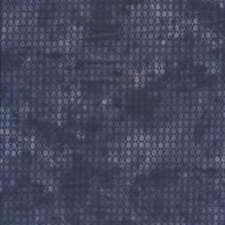 Bomuld batik med prikker i koksgrå og grå-20
