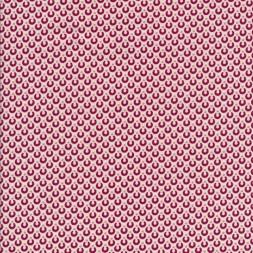 Bomuldspoplin med halv cirkel i hvid og rosa-20