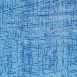 Bomuld meleret i lyseblå og blå-20
