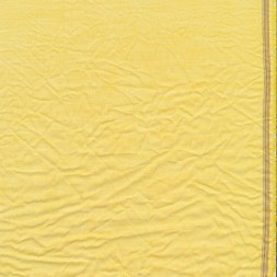 Let krøllet bomulds-voil meleret i lys gul-20