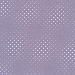 Bomuld med små prikker i lyselilla/hvid-20