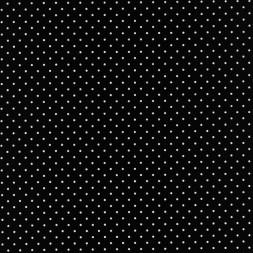 Bomuld med små prikker i sort/hvid-20
