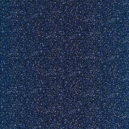 Bomulds poplin i mørkeblå med nister i beige, lyseblå-20