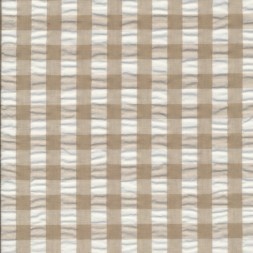 Rest Bomuld polyester med tern beige hvid 100 cm.-20