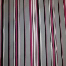 Kraftig stribet bomuld, grå/pink-20