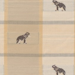 Bomuld/polyester tern m/elefanter-20